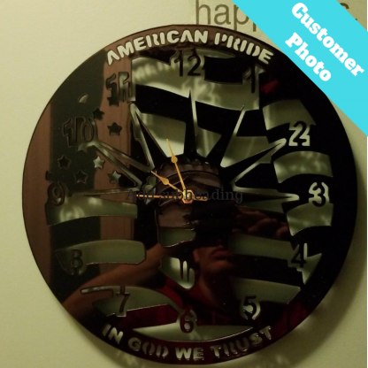 Customer Photo american pride clock
