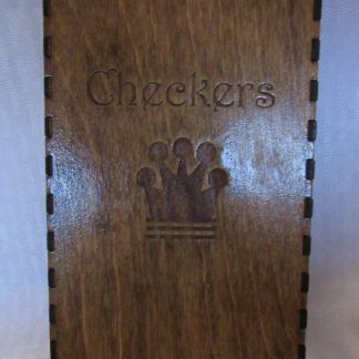 checker board box closed