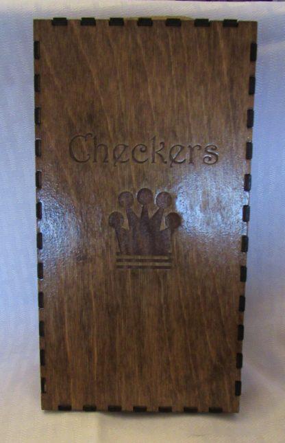 checker board box closed