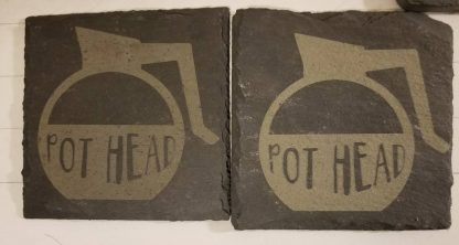 double pot head coaster