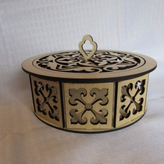 round decorative box 2