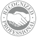 Recognized Professional seal